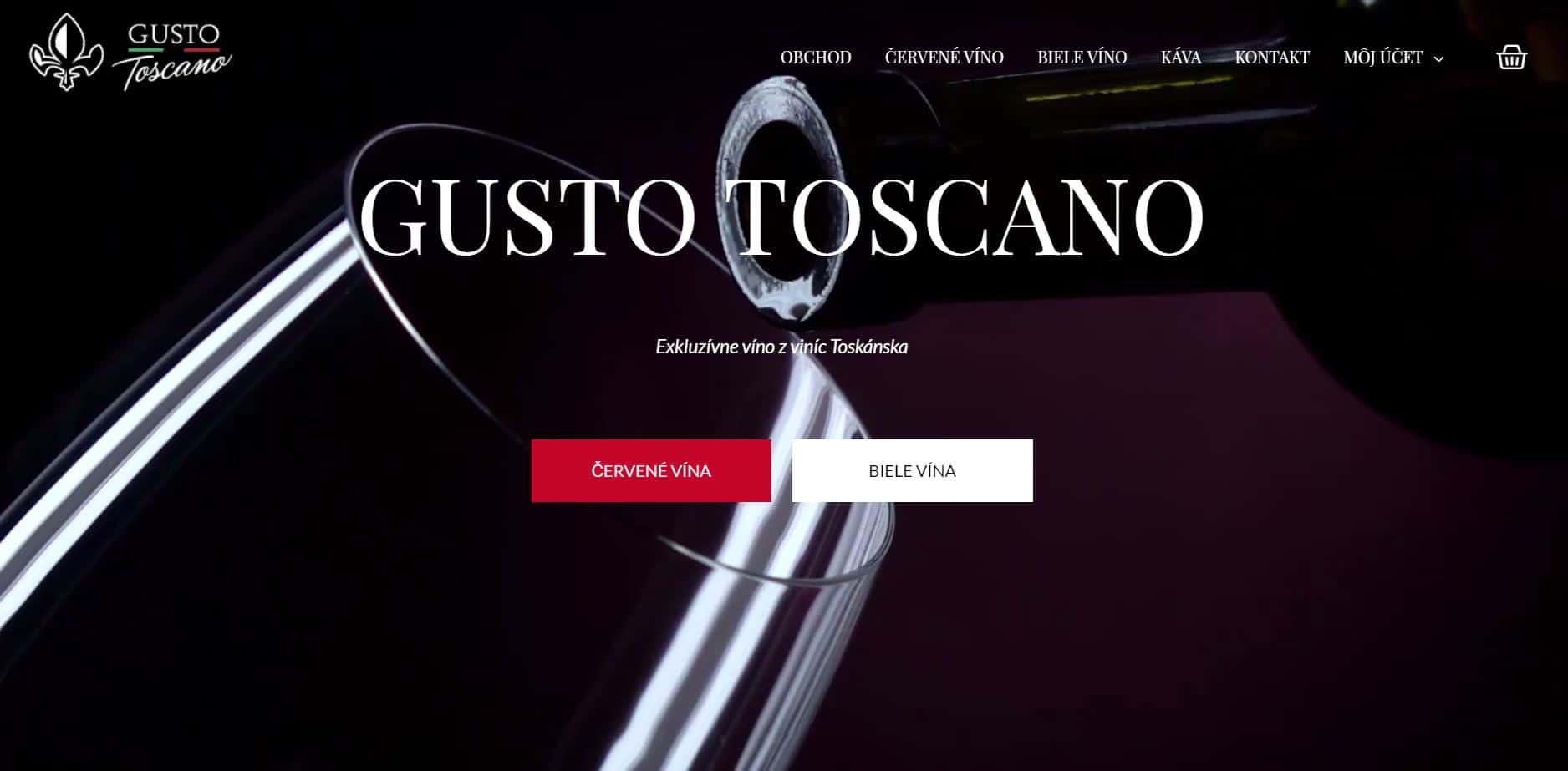 gusto toscano screenshot