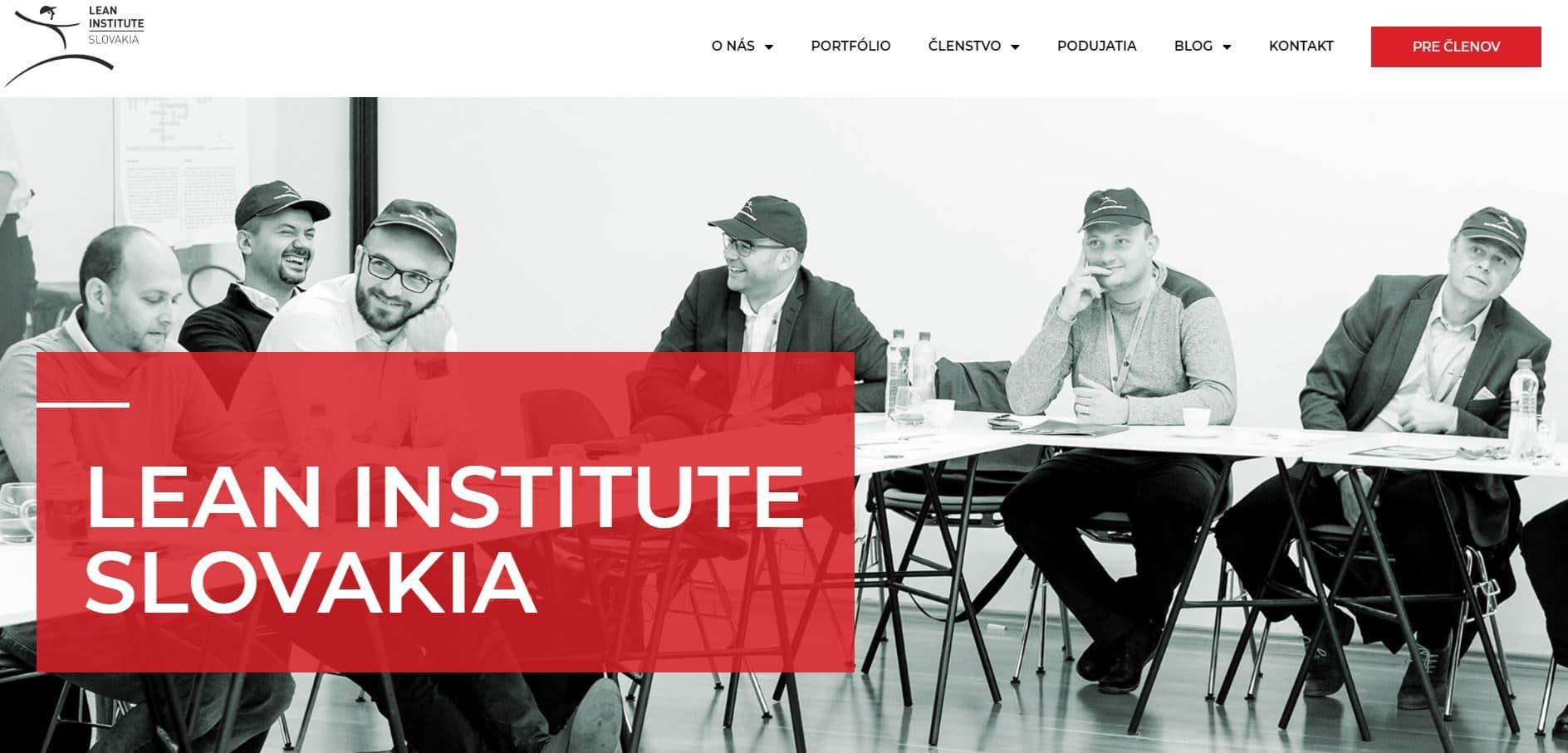 lean institute hlavná stránka