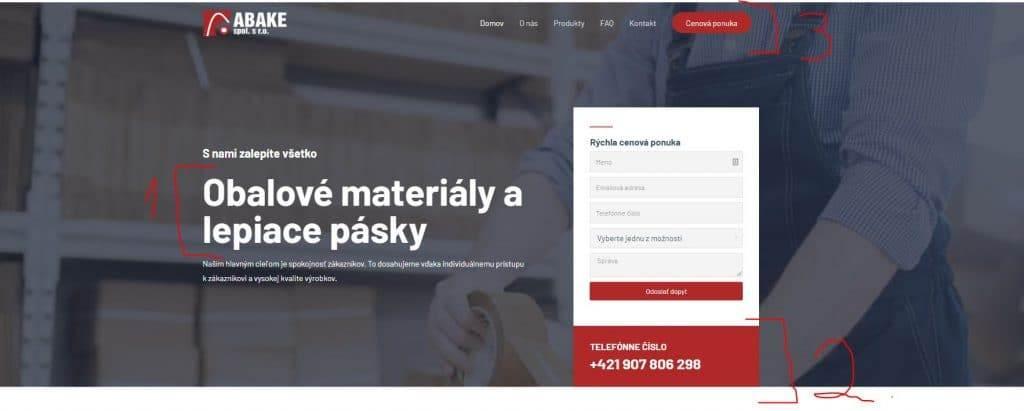 hierarchia dizajnu tomarco webové stránky